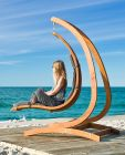 Chaise longue suspendu Vague