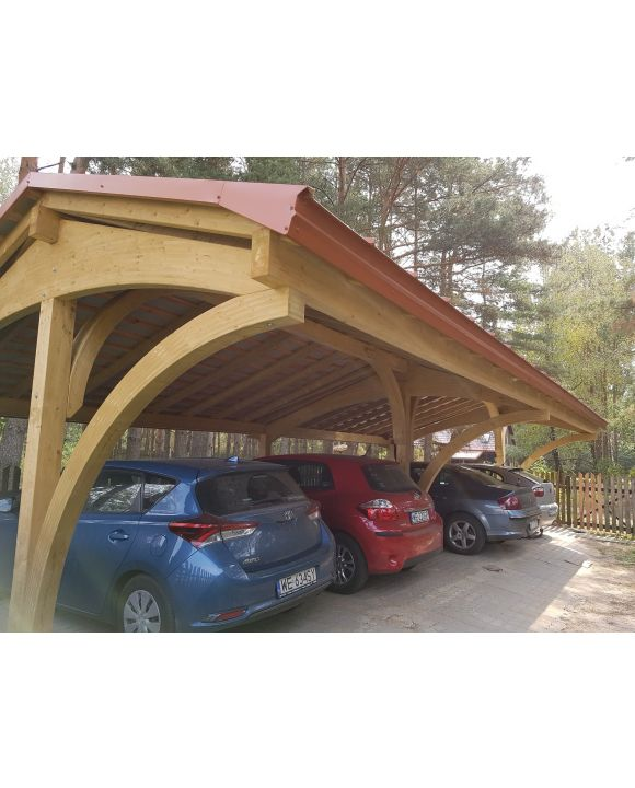 Carport Revelatio Quadruple
